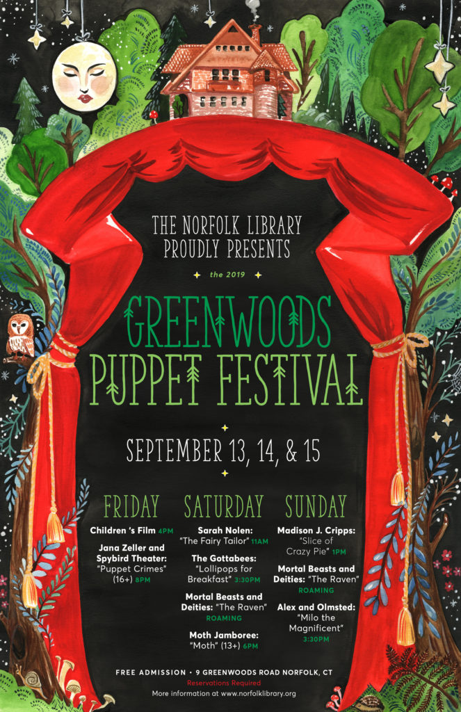 Greenwoods Puppet Festival | Norfolk Library